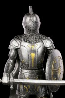 Chaos Knight Figurine with Sword and Shield