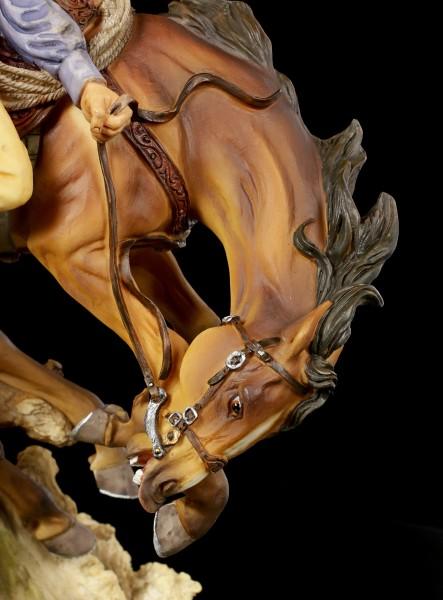 Cowboy Figurine - Bronco Buster