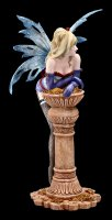 Fairy Figure - Rhian with Column and Gold