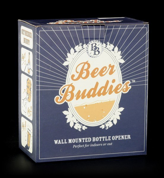 Beer Buddies - Dolphin - bronze finish