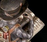Steampunk Schimpansen Figur - Der Gelehrte