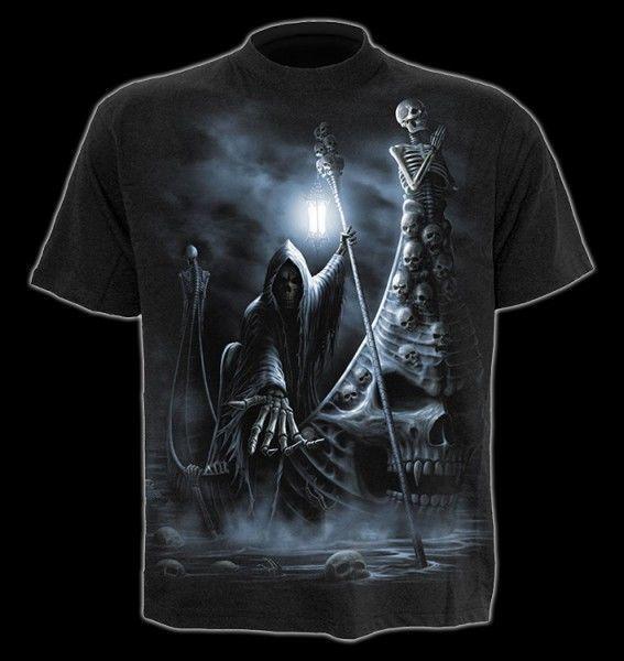T-Shirt - Skelett Fährmann - Live Now Pay Later