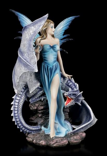 Fairy Figurine - Sidera with Dragon