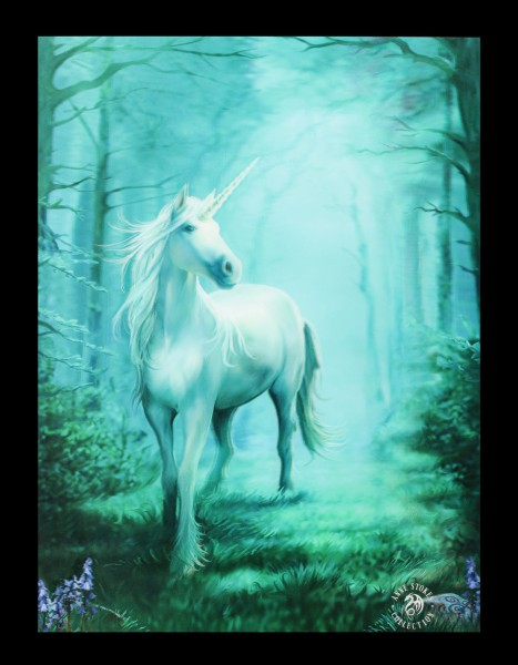 3D Picture - Forest Unicorn