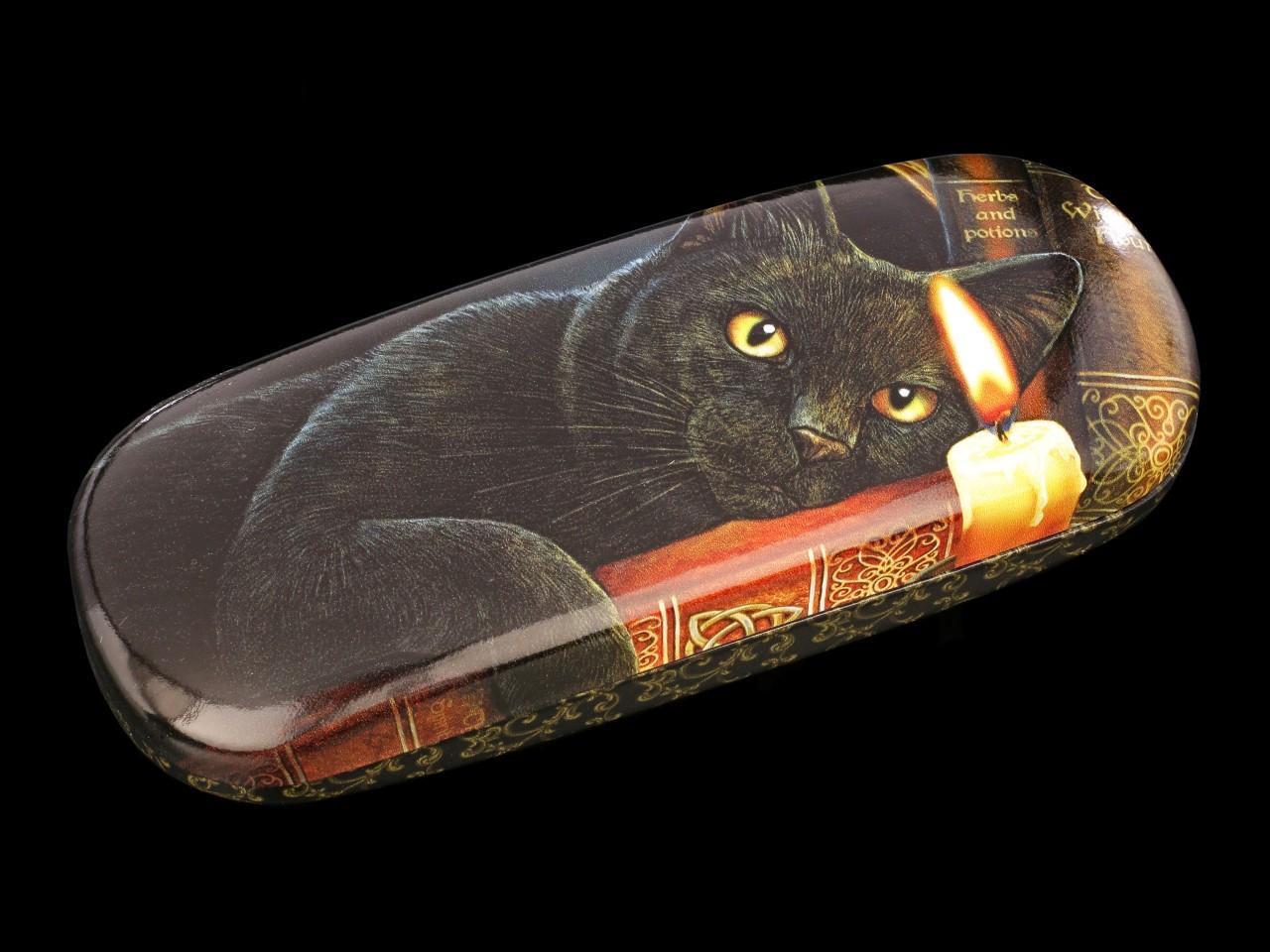 Brillenetui mit Katze - Witching Hour