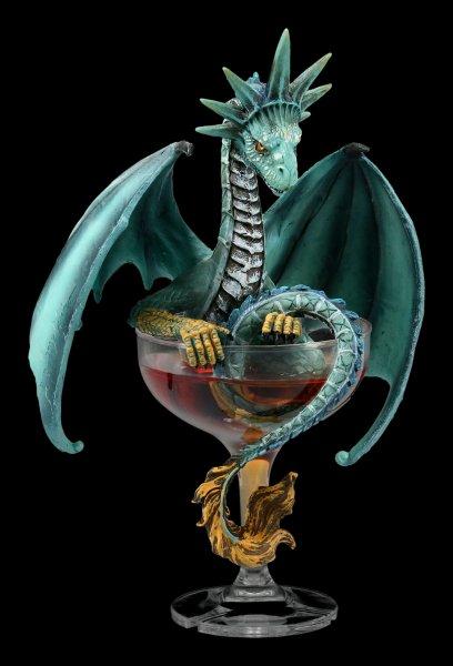 Drachen Figur Cocktail - Manhattan