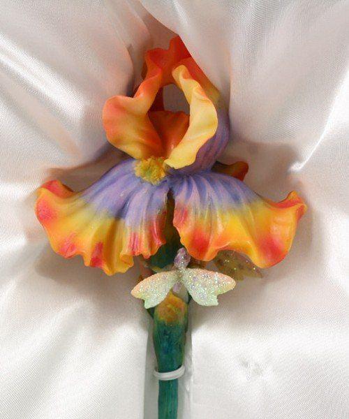 Elfen Blumenstecker - Iris