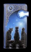 Geldbörse mit Katzen - Wish Upon A Star - geprägt
