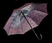 Regenschirm mit Totenkopf - Oriental Skull by Anne Stokes