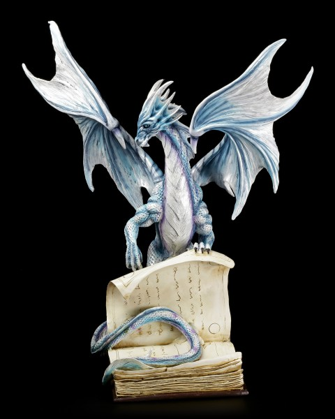 Book Dragon Figurine - Guardians of the Words