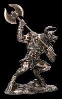 Minotaurus Figur mit Axt