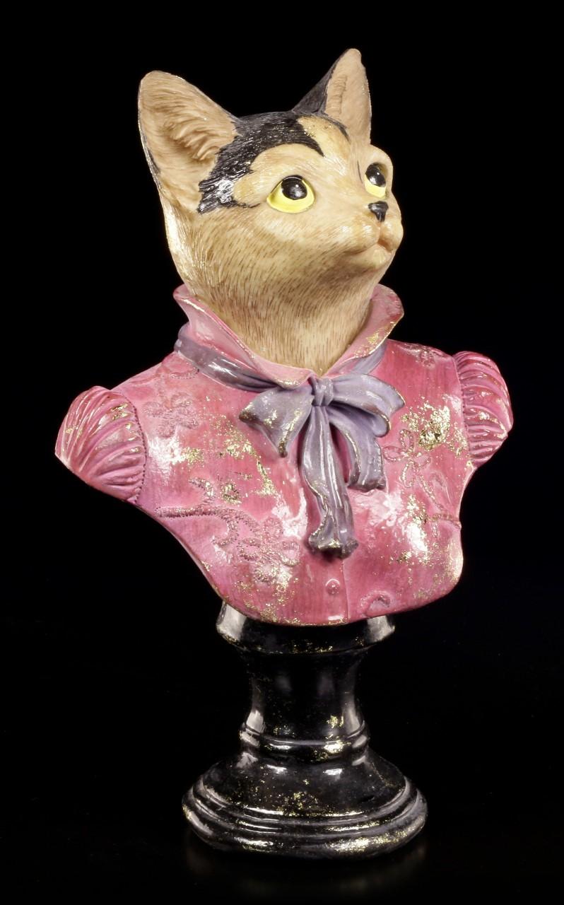 Katzen Büste - Elegante Lady