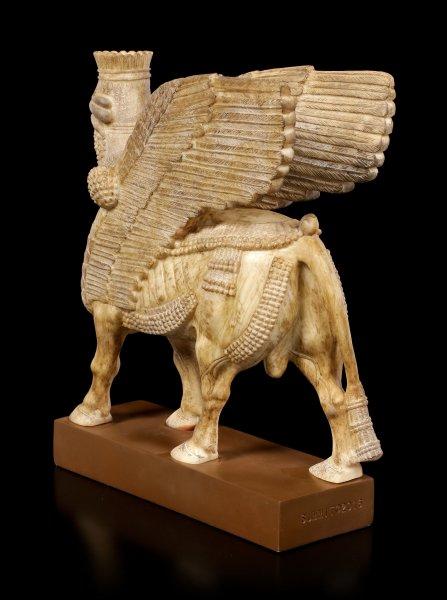 Assyrische Sphinx Figur - Lamassu Schedu