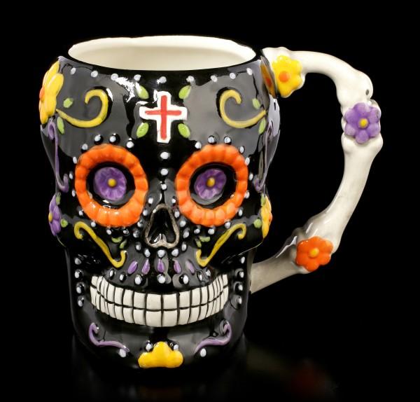 Skull Mug - Los Coffee De Los Muertos