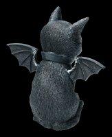 Okkulte Katzenfigur mit Flügeln - Malpuss
