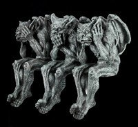 Gargoyle Shelf Sitter - No Evil