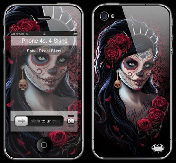 Gothic Smartphone Skin - Day Of The Dead