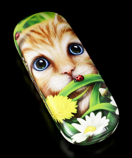 Glasses Case with Cat - Summer Cat