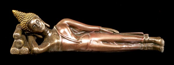 Schlafende Buddha Figur - klein