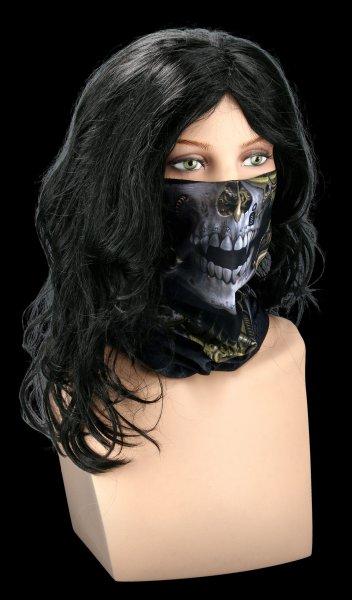Multifunctional Face Wrap - Steam Punk Reaper