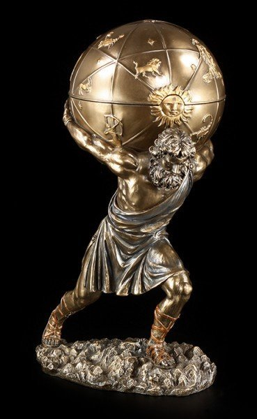 Atlas Figurine - Box