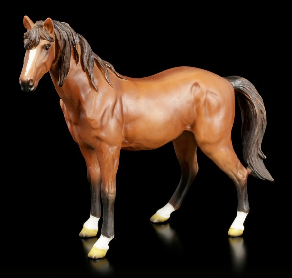 Brown Horse Figurine