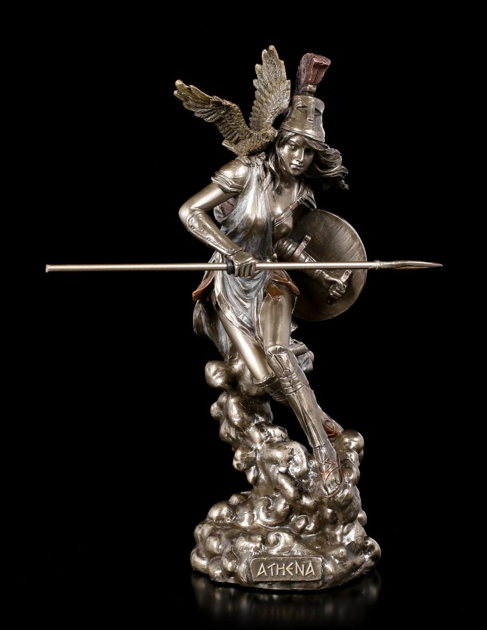 Athena Figurine - Greek Goddess with Owl