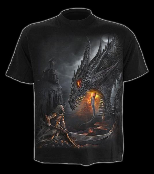 T-Shirt mit Drache - Dragon Slayer