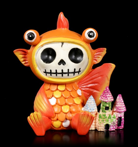 Furry Bones Figurine - Goldfish