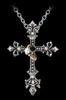 Alchemy Kreuz Halskette - Maryam Theotokos Ring Cross