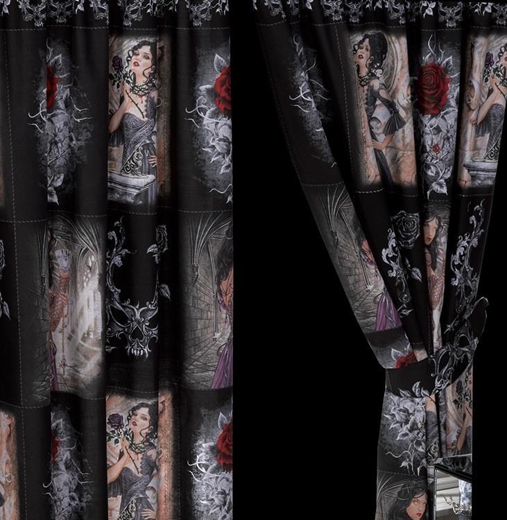 alchemy gothic vorh nge story of the rose hallbergmoos. Black Bedroom Furniture Sets. Home Design Ideas