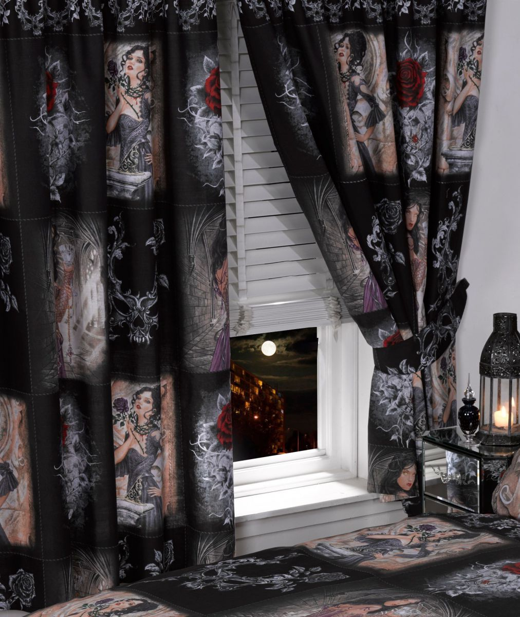 alchemy gothic vorh nge story of the rose hallbergmoos. Black Bedroom Furniture Sets. Home Design Ideas