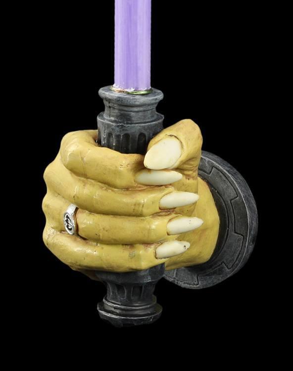 Markus Mayer Vampir Hand Leuchter rechts Kerzenhalter Wand Deko Gothic