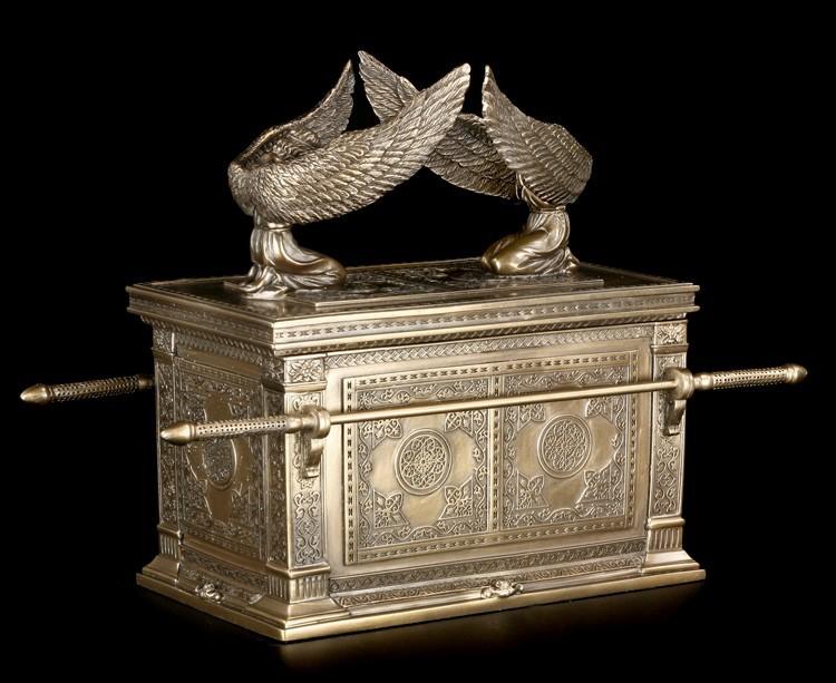 Bundeslade als Schatulle bronziert - Veronese Figur Templer Tempelritter   eBay