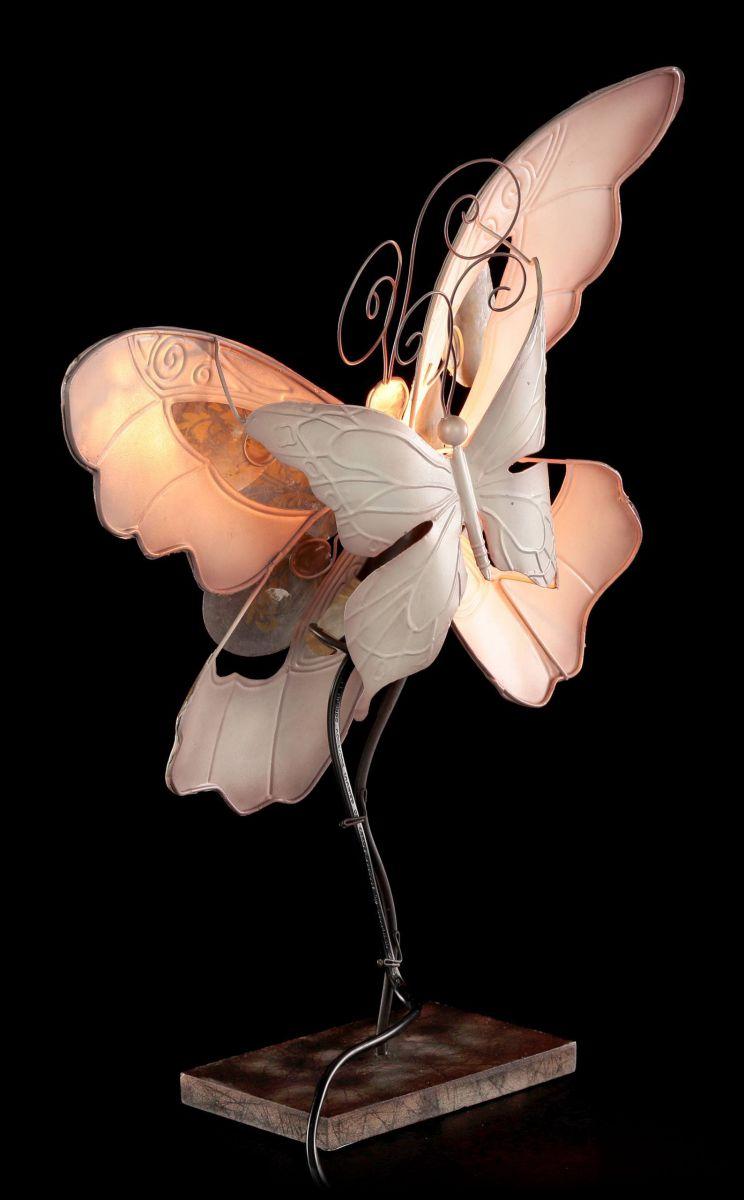metal figure butterfly lamp sheet metal table lamp bedside lamp ebay. Black Bedroom Furniture Sets. Home Design Ideas