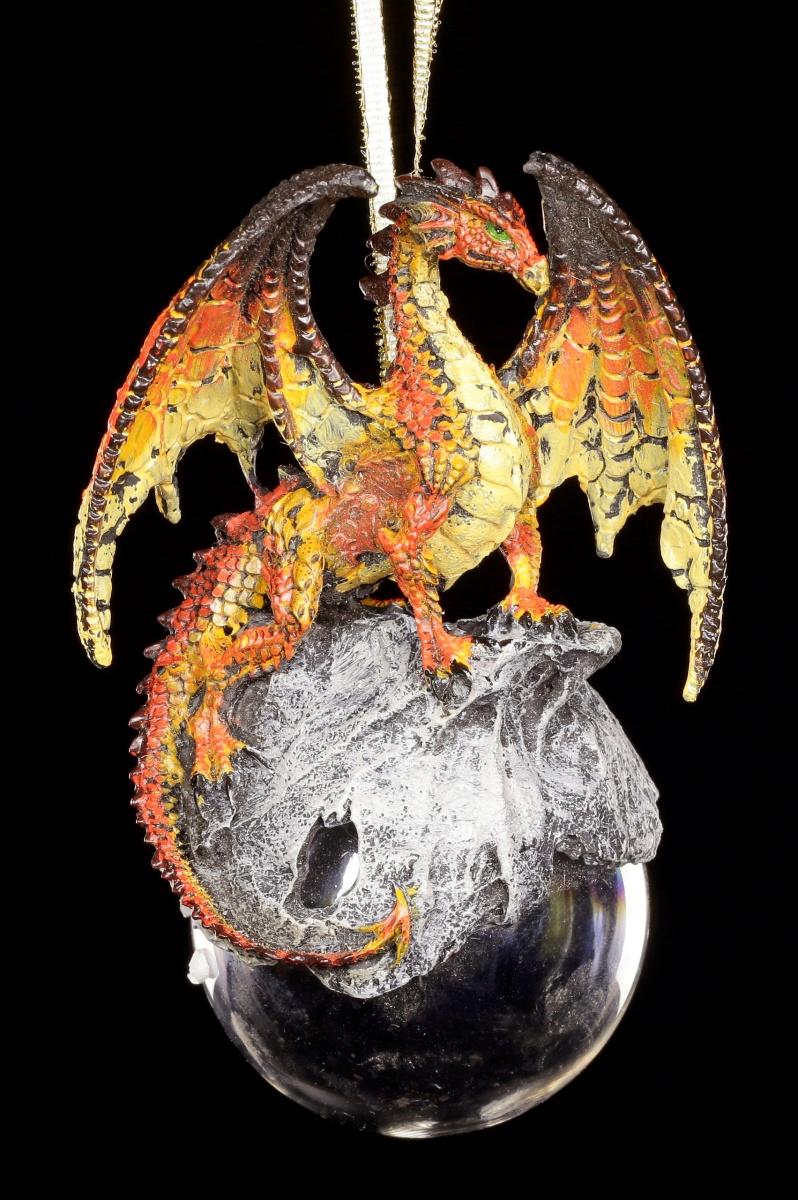 Dragon Christmas Tree Ornament Hyperion Orange
