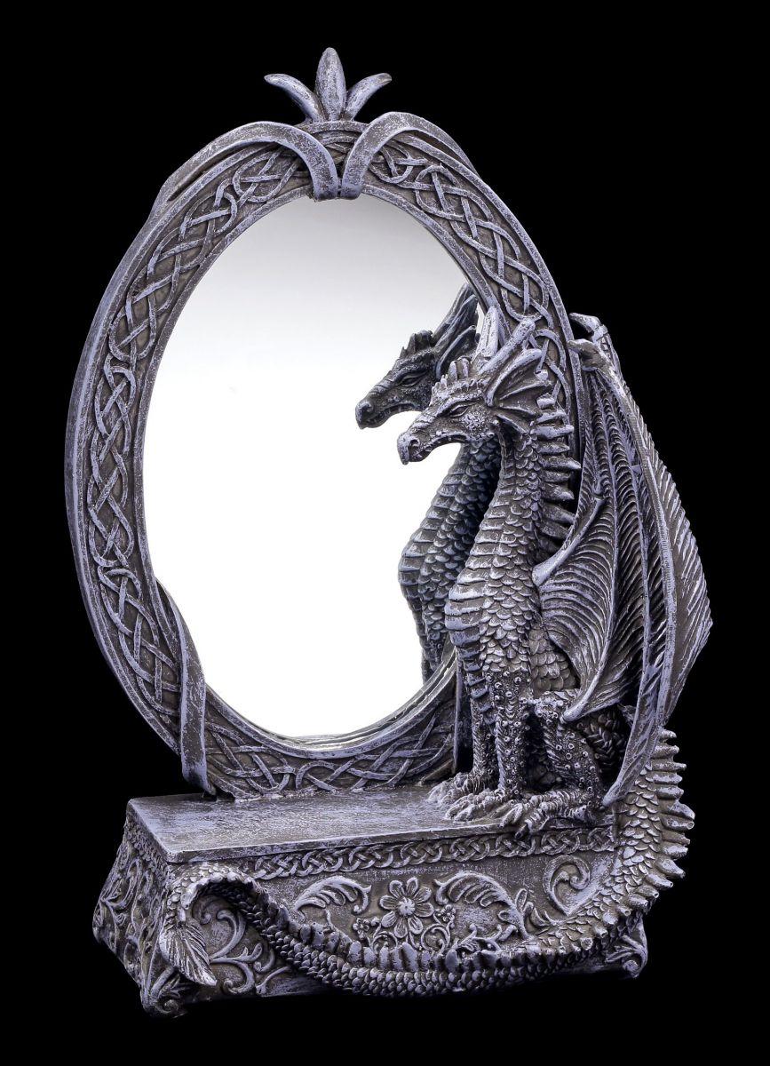 drachen spiegel dark oblivion fantasy gothic deko hallbergmoos. Black Bedroom Furniture Sets. Home Design Ideas