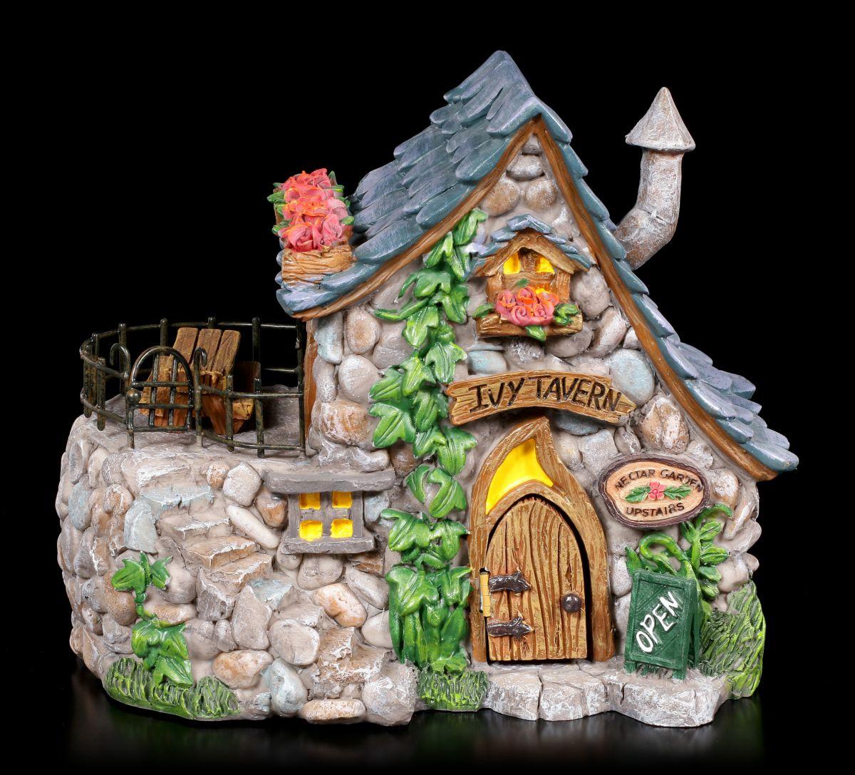 Elfen Haus Ivy Tavern Fantasy Feenhaus Garten Wohndeko