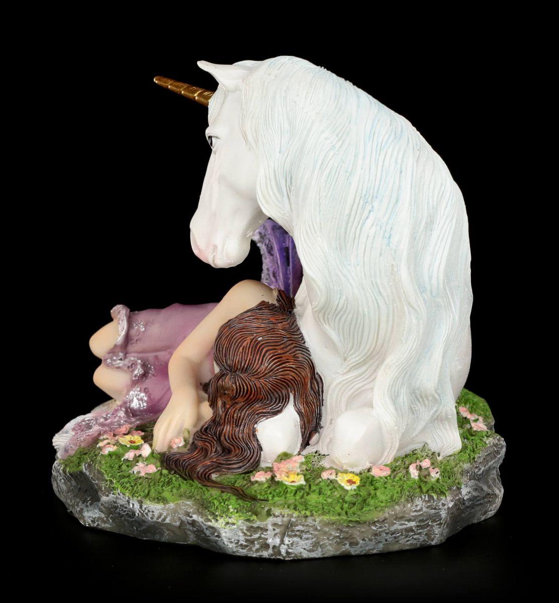 Statuetta Elfo Euone Posti Letto Bei Unicorno Fata Figura