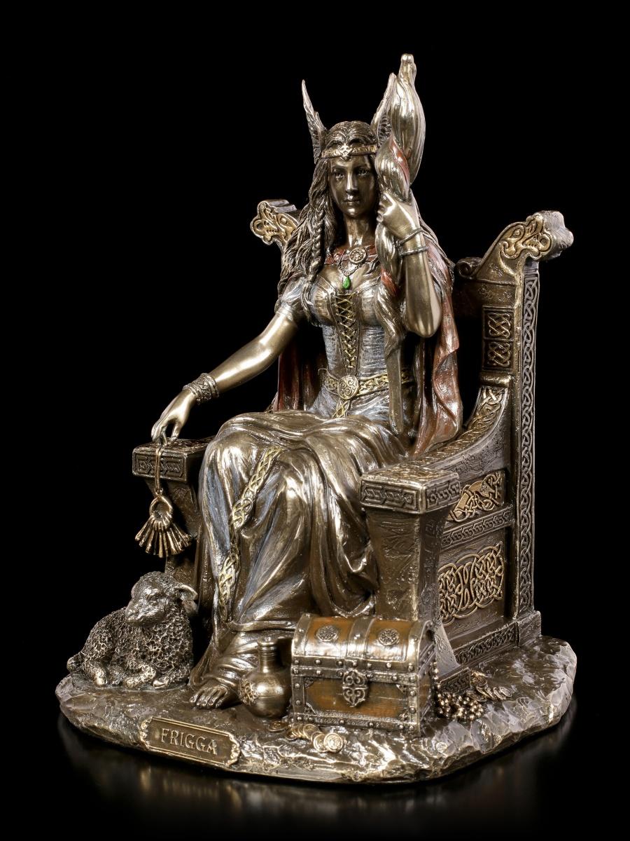 Frigga Figur - Germanische Göttin und Frau Odins