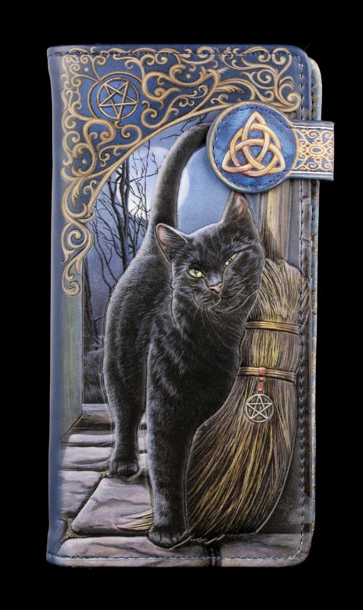 geprägt Geldbörse mit Katze A Brush with Magic Lisa Parker Geldbeutel