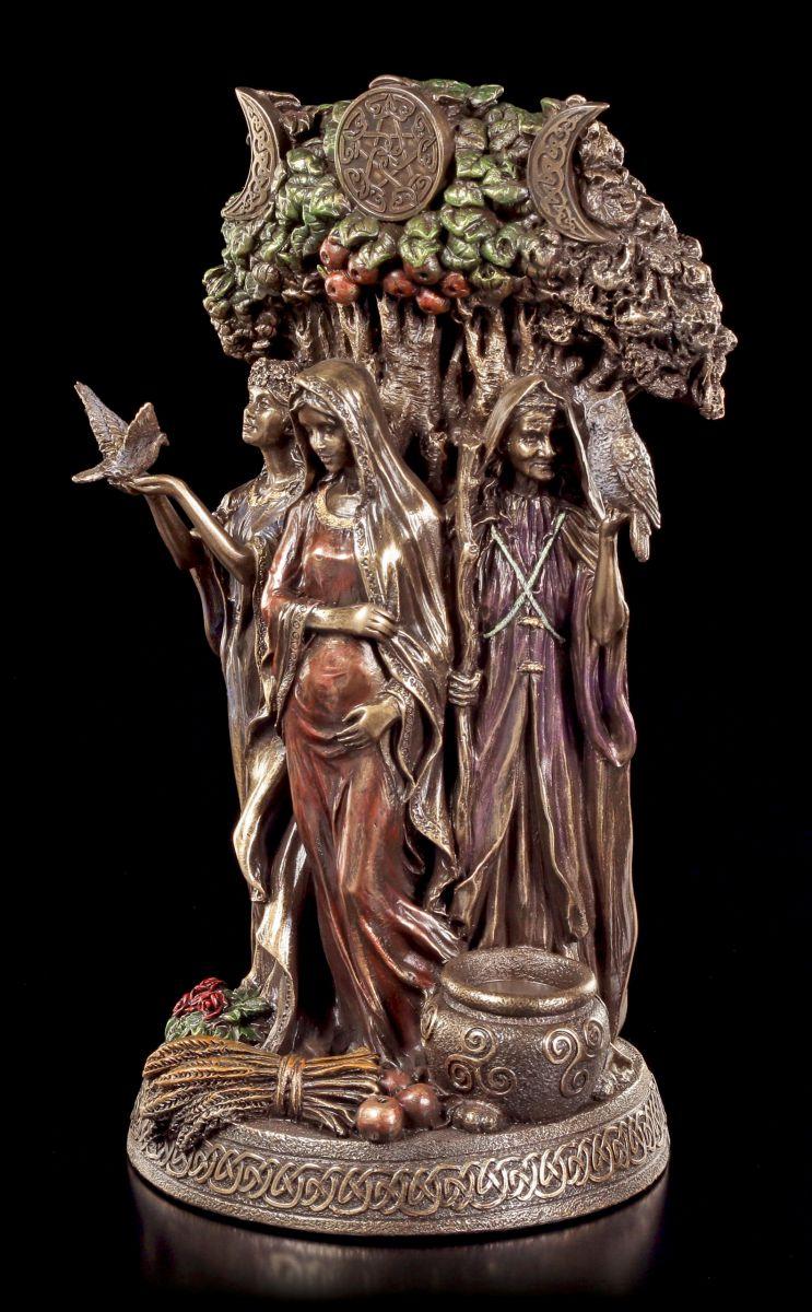 Dreifaltigkeits Gottin Figur Altes Weib Mutter Jungfrau Veronese Statue Ebay