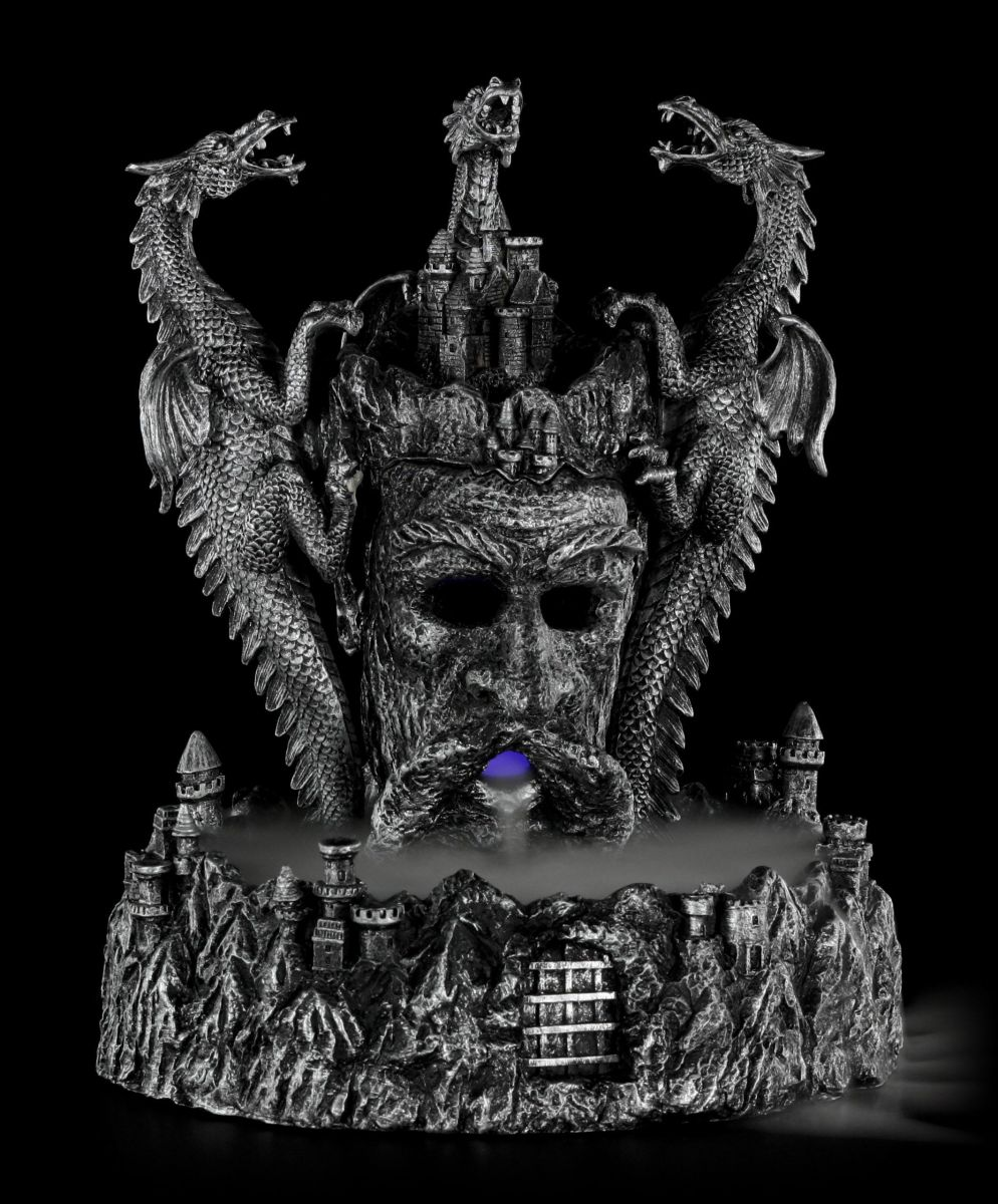 drachen nebler led fantasy gothic deko dragon einrichtung ebay. Black Bedroom Furniture Sets. Home Design Ideas
