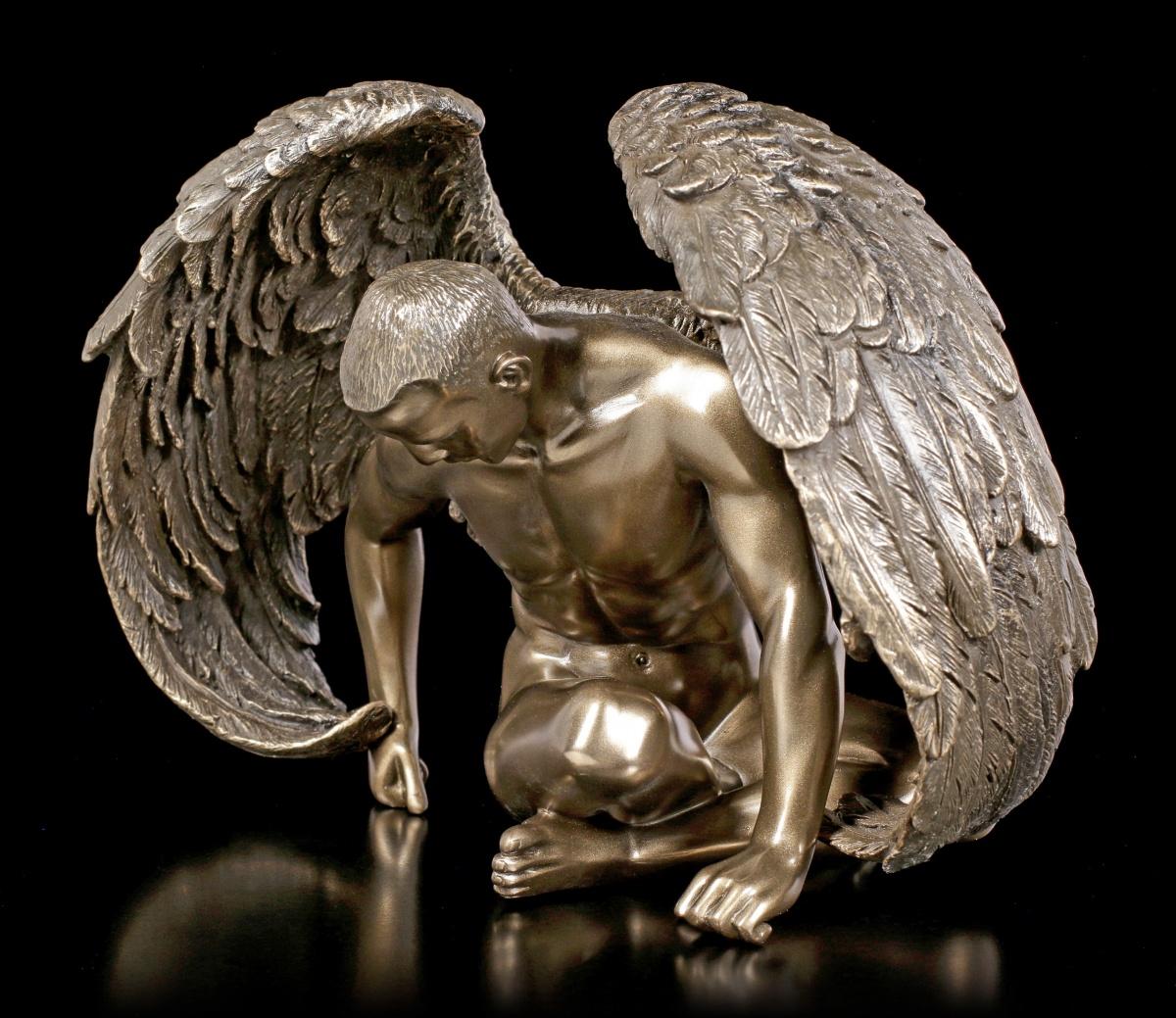 Männlicher Engel - Akt Figur - Angels Rest - Fantasy Mann