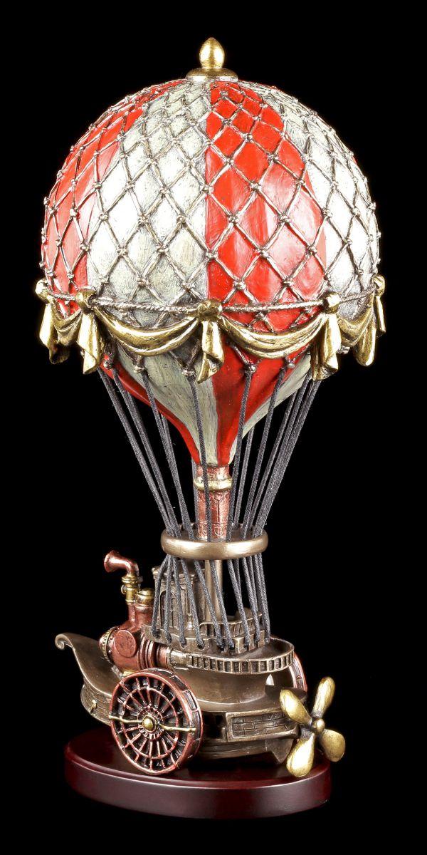 steampunk deko figur ballon luftschiff hei luftballon veronese viktorianisch ebay. Black Bedroom Furniture Sets. Home Design Ideas