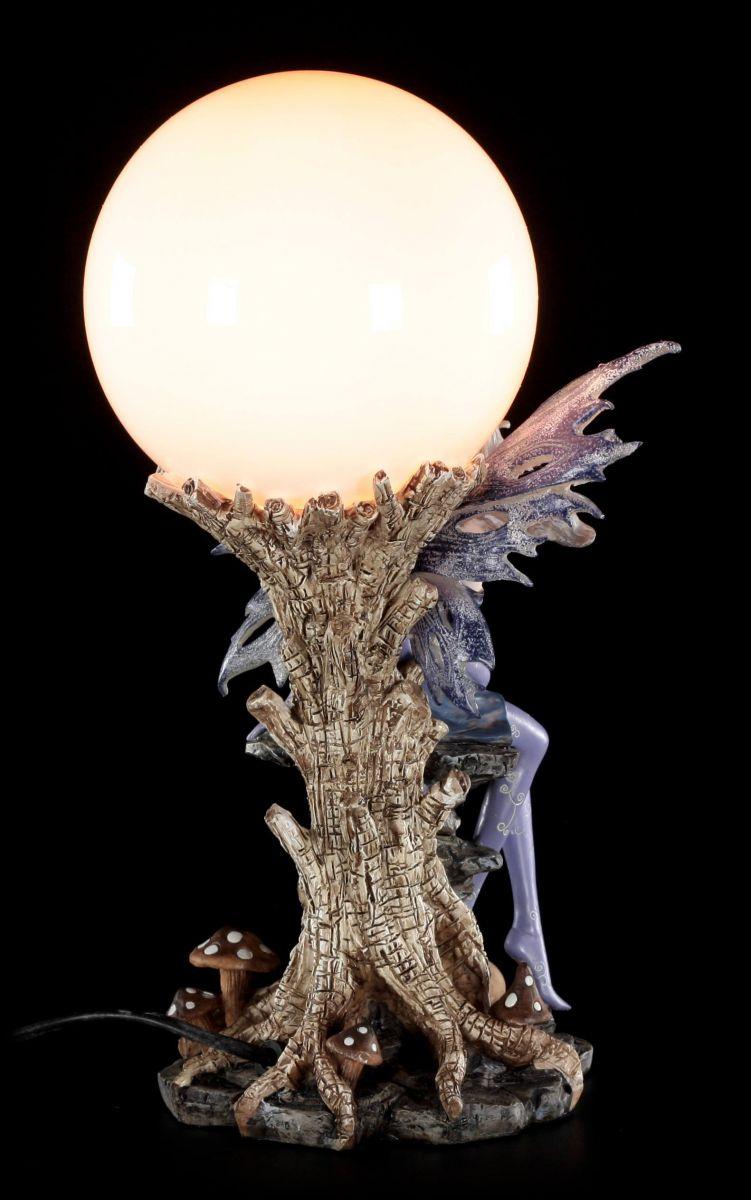 Elfi lampada da tavolo eire con drachenbabys su albero for Tronco albero arredamento