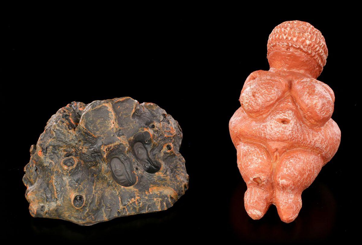 Die Venus von Willendorf Figur Skulptur in schöner Geschenkbox PA18VEN 20013