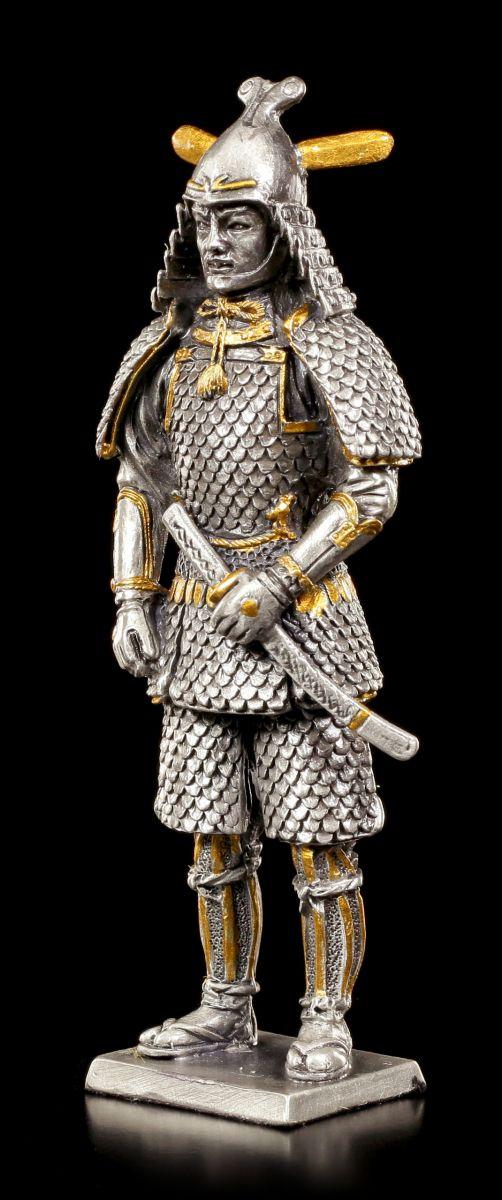 Guerrier Chevalier Veronese Étain Figurine Japonais Samouraï